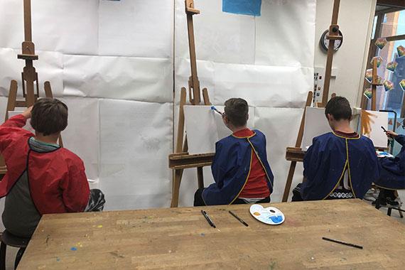 Kunstvakdocent Zonnehoek Apeldoorn